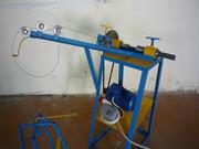 Оборудование, чертежи и комплектующие, серийный станок по плетению рабицы, гарантия производителя в Рязани.
