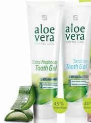 Зубная паста-гель с Алоэ Вера