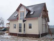 Строительство домов,  дач,  гаражей,  бань.