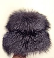 шапка из чернобурки