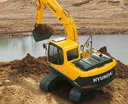 Гусеничный экскаватор Hyundai R-140LC-9S