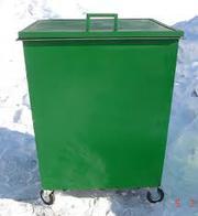 Контейнеры металлические (баки)  с крышкой для ТБО в Оренбурге продаем