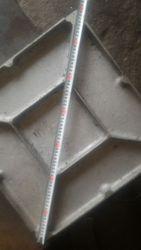 Алюминиевая плита 500х500х30 (элемент пола)