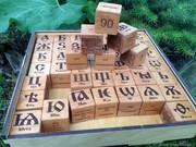Кубики «БУКВИЦА» - обучающее пособие для изучения родного языка.