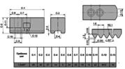 Кулачки сырые на гидравлический патрон SJ08
