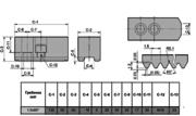 Кулачки сырые на гидравлический патрон SJ12(18)