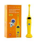 Звуковая щетка для детей Revyline RL 020 Kids в сочном желтом дизайне