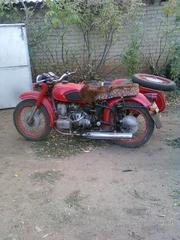мотоцикл Днепр МТ-10 в отличном состоянии