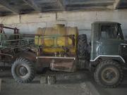 Опрыскиватель ОП-2000 на базе ГАЗ-66 (дизель)